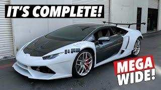 homepage tile video photo for Installing a Lamborghini Huracan Widebody kit! [Part 3]