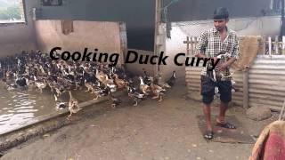 Duck meat