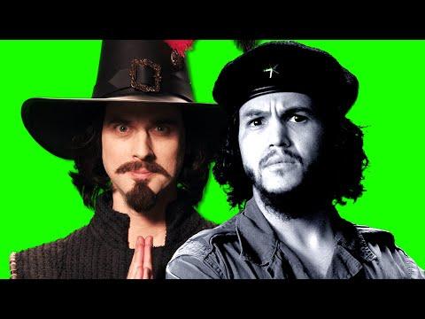 Che Guevara vs Guy Fawkes. ERB Behind the Scenes