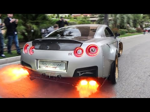 THE LOUDEST NISSAN GTR R35 IN THE WORLD!