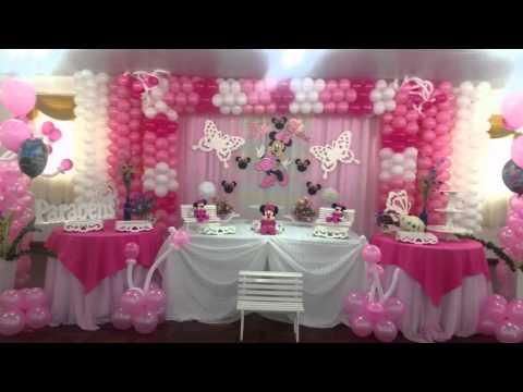 decoraçao de festa infantil minnie rosa (suzy festa decoraçao )