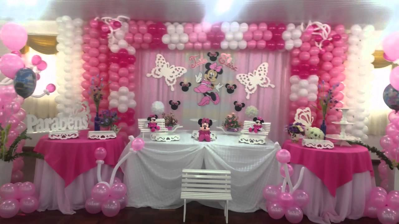 decoracao festa minnie rosa : decoracao festa minnie rosa:decoraçao de festa infantil minnie rosa (suzy festa decoraçao