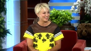 Kaley on Her New Haircut!