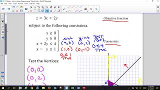 PC 7 5 Notes   Intro to Linear Programming