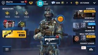 Video Modern combat 5, VIP level 7 download MP3, 3GP, MP4, WEBM, AVI, FLV Oktober 2018