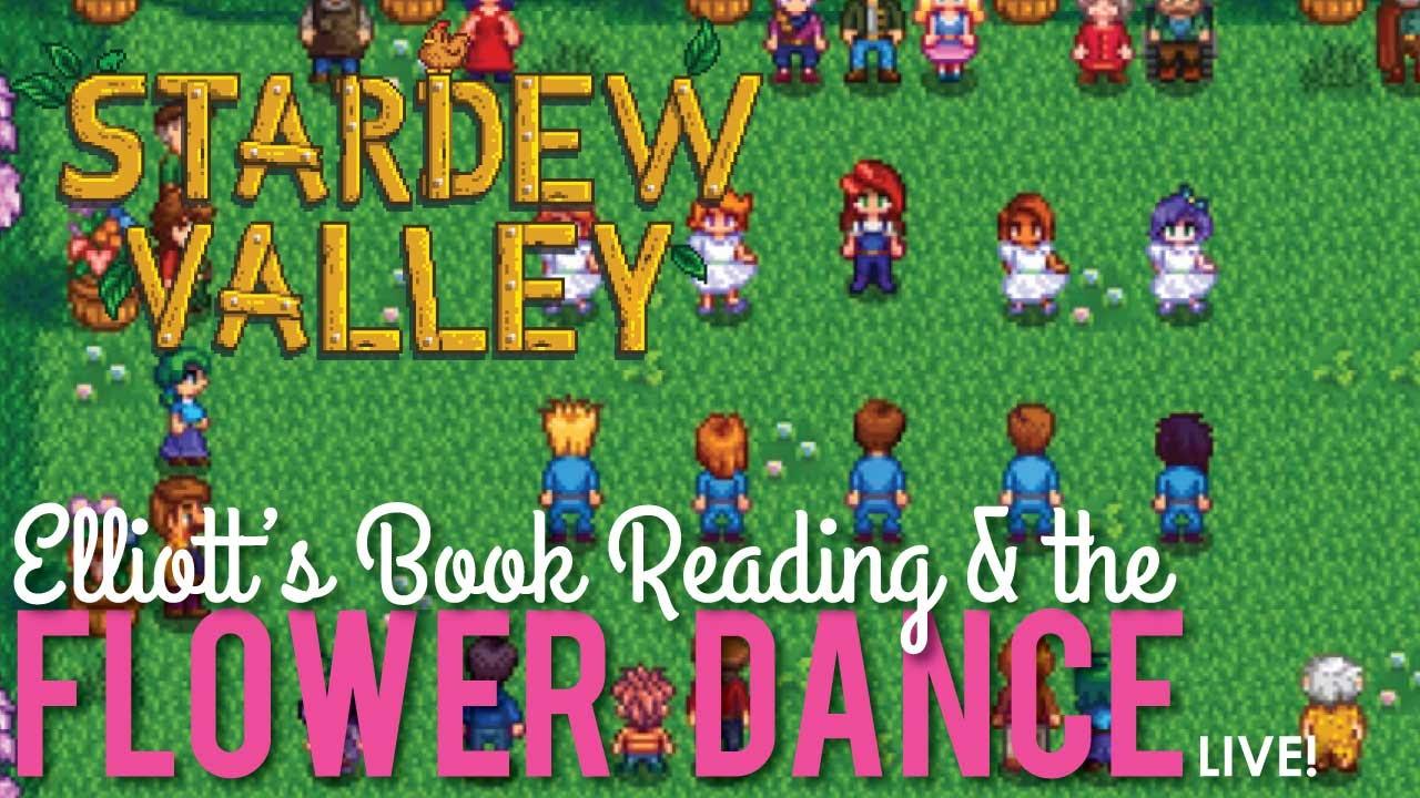 Elliott's Book Reading & Flower Dance, Stardew Valley - LIVE! by FoodFluent  by RedLace