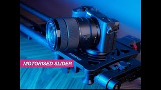The Affordable Carbon Fibre Motor Slider you can take Anywhere!