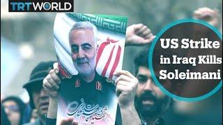Top Iranian commander Qasem Soleimani killed in US attack