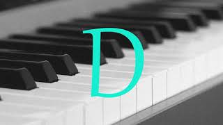 Memorize the Note D (Piano) Perfect Pitch