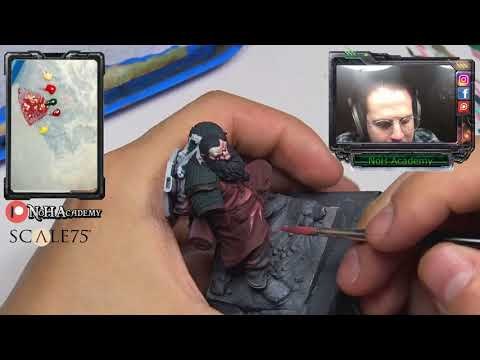 NoH Figure Painting Academy- SCALE 75 Broin Bearson! ep.2