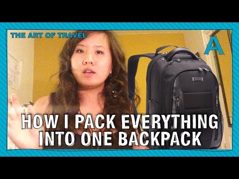 how-to-pack-everything-into-one-backpack-(for-vacation)-|-articulations