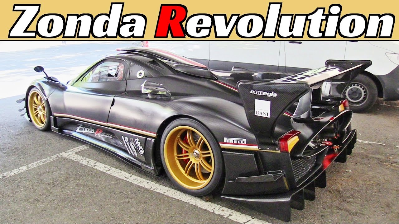 Pagani Zonda Revolucion, your eardrums will thank you! V12 N/A Engine Sound, Motor Valley Fest 2021