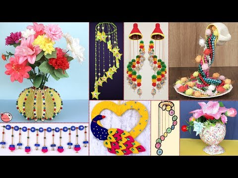 Best Out Of Waste Ideas !!! 10 DIY Room Decor - DIY Projects !!!