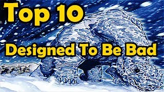 Top 10 Cards Designed To Be Bad in YuGiOh