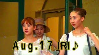 2017.8.17Filming MOON TROUPE IRIMACHI.