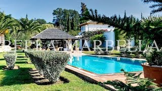 Sotogrande: Luxury Country Estate with Stables, Palm-Garden, Pool - FOR SALE!