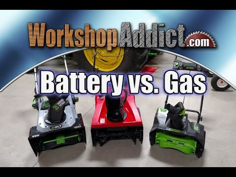 Is A Battery Operated Snowblower Up To Real World Use Youtube