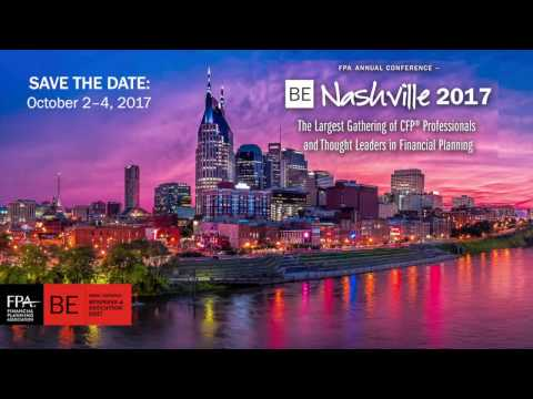 FPA Annual Conference – BE Nashville 2017