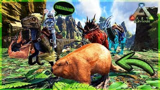 FARGAN ME TRAICIONA!!!!! - ARK SURVIVARK #17
