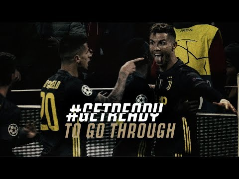 #GETREADY TO GO THROUGH! | UEFA Champions League: Juventus vs Ajax