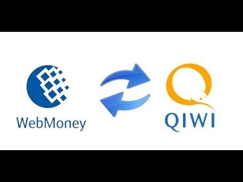 Как перекинуть деньги с Webmoney на QIWI 2017г  2018 г