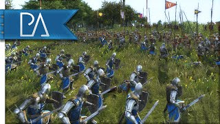 CLOSE MEDIEVAL BATTLE  - Medieval 2 Total War Gameplay
