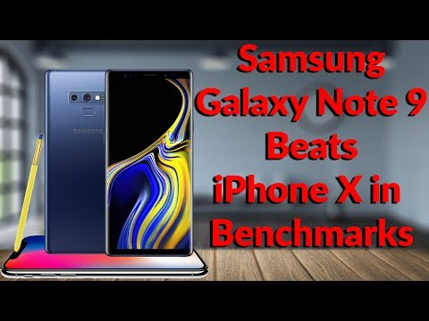 You're Wrong Internet! Samsung Galaxy Note 9 Beats iPhone X in Benchmark Test - YouTube Tech Guy