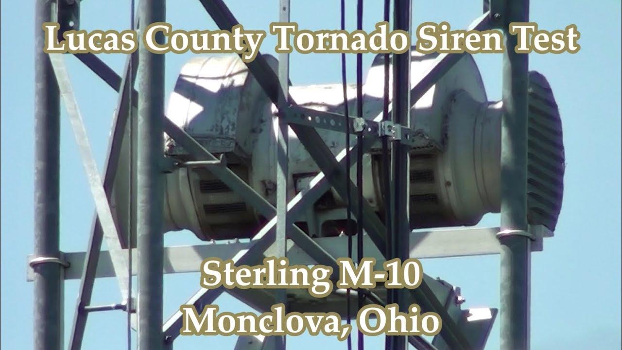 Ohio lucas county monclova - Monclova Oh Sterling M 10 Siren Test 6 2 17