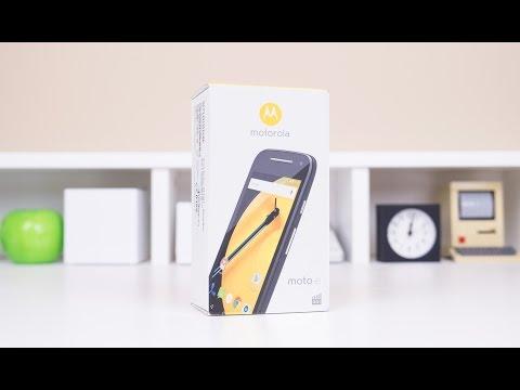 Motorola Moto E (2nd Gen) Unboxing & First Look
