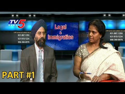 H1B-Visa New Rules | Namith & Lakshmi Devineni Interview #1 | Legal & Immigration | TV5 News