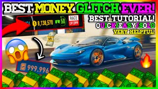 *INSANE GAME BREAKING MONEY GLITCH!* Need For Speed Payback Money Glitch! BEST TUTORIAL! SOLO+QUICK
