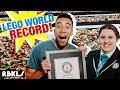 World's longest LEGO Walk! Record BROKEN!  REBRICKULOUS