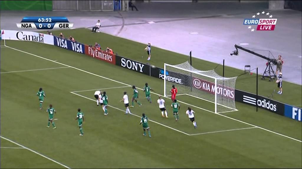 U20 Frauen Wm 2014 Finale Nigeria Deutschland 2 Halbzeit