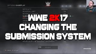 WWE 2K17: Changing the Submission System (Tutorial)