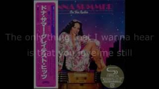 Donna Summer - On the Radio (7 Single) LYRICS SHM On the Radio: Greatest Hits I & II 1979