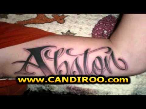 Tatuajes Con Nombres De Personas Youtube