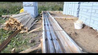 видео Мелкозаглубленный ленточный фундамент
