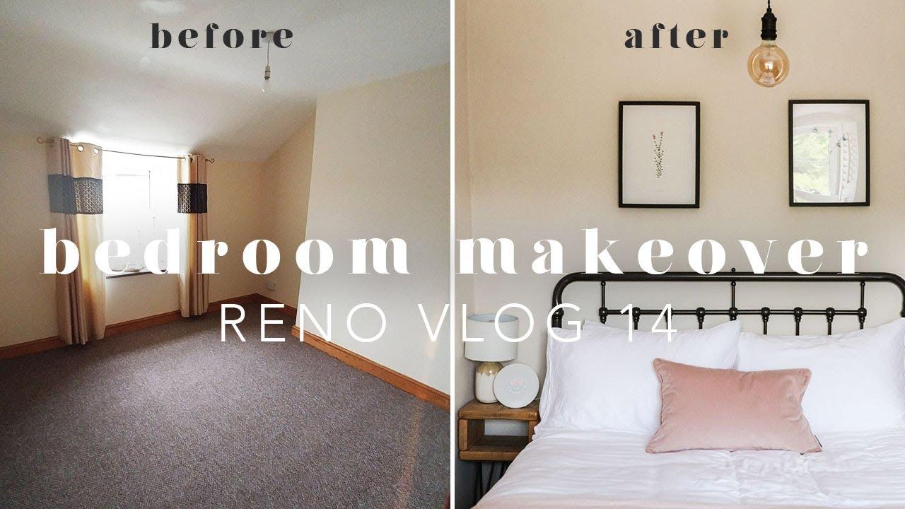 HOUSE UPDATES & SPARE BEDROOM MAKEOVER   RENO VLOG 14