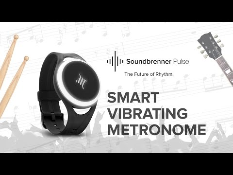 Introducing the World's First Smart Vibrating Metronome: Soundbrenner Pulse