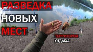 Рыбалка на реке Днестр Разведка новых мест