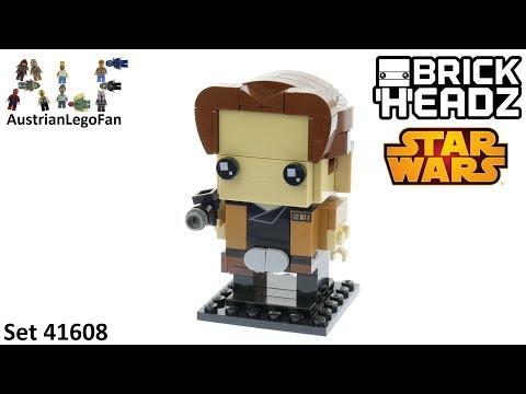 Lego Brickheadz 41608 Han Solo - Lego Speed Build Review