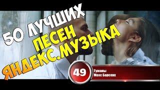 50 лучших песен сервиса 'Яндекс.Музыка' | Музыкальный хит-парад от 13 марта 2018