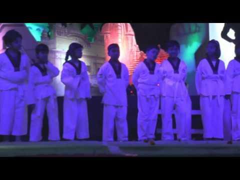 Karate Performance In Mount Litera Zee School Kasganj Youtube