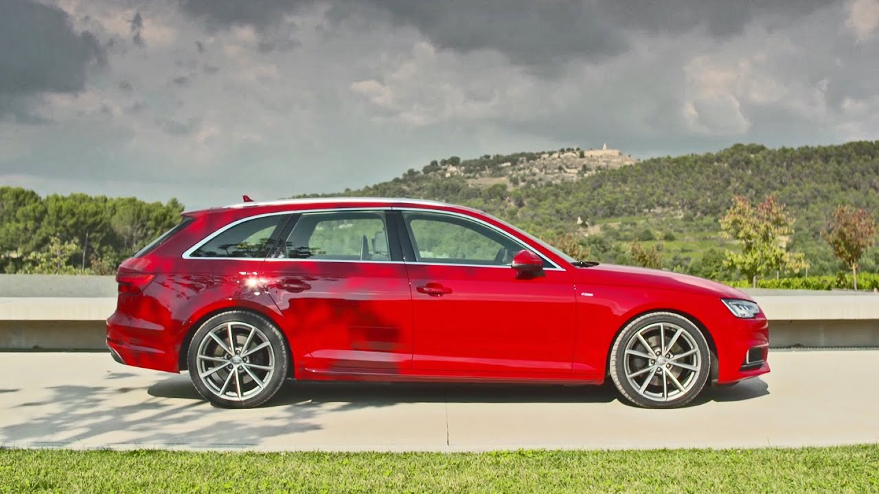 Audi A4 Avant S Line 2016 Footage Youtube