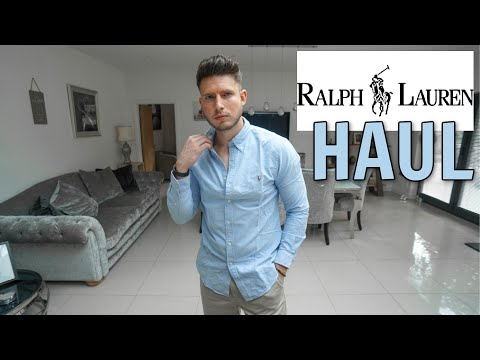 Ralph Lauren Men's Clothing Haul & Try On | Men's Fashion 2020