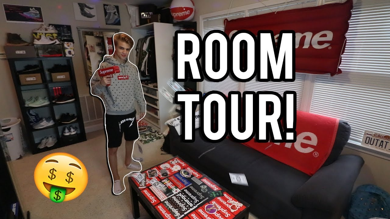 My Dope Room Tour Hypebeast Heaven Youtube