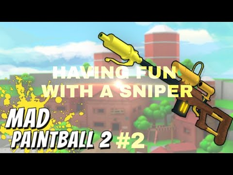 Drew Sniper Montage - (ROBLOX Mad Paintball) - YouTube |Mad Paintball Sniper