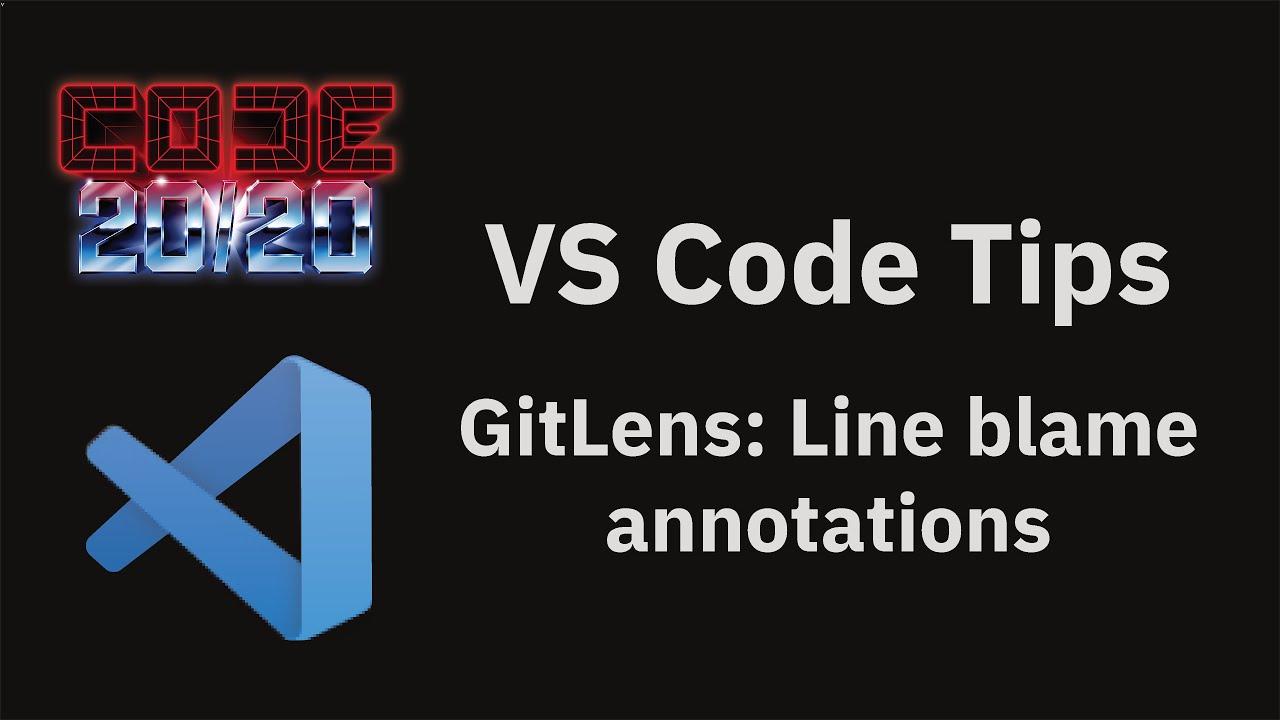 GitLens: Line blame annotations