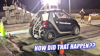 We Took KaterTot Drag Racing and it Was an EPIC FAIL!!! (last thing we saw coming...)