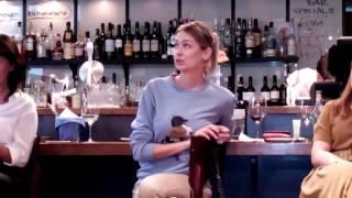 Телеканал «Dомашний» и актриса Евгения Лоза представили сериал «Восток-Запад» в Петербурге(7)